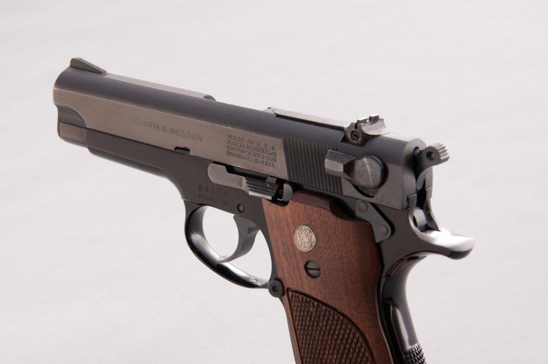 969: Early Alloy Frame S&W Model 39 Semi-Auto Pistol - 2