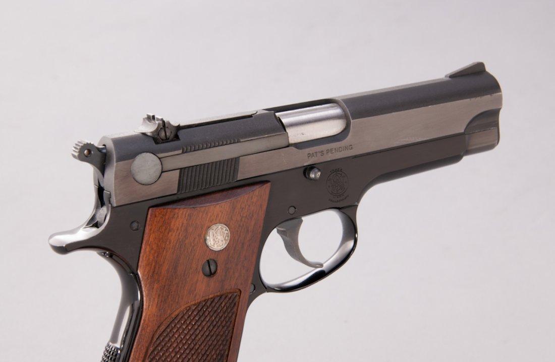 969: Early Alloy Frame S&W Model 39 Semi-Auto Pistol - 3