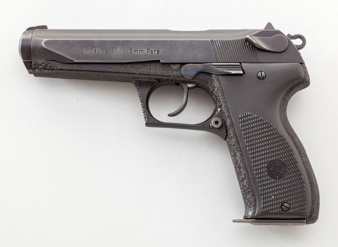 1014: Steyr Model GB Semi-Automatic Pistol