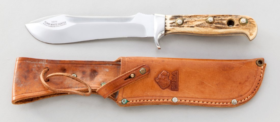 1028: Puma White Hunter (No. 6377) Knife