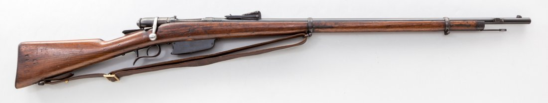 1081: Italian Vetterli 1870/87/15 Bolt Action Rifle
