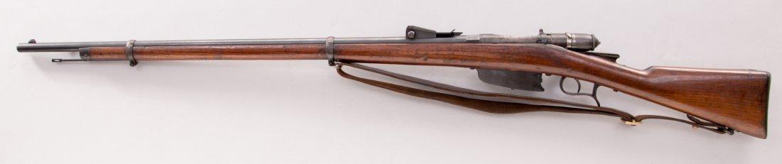 1081: Italian Vetterli 1870/87/15 Bolt Action Rifle - 2