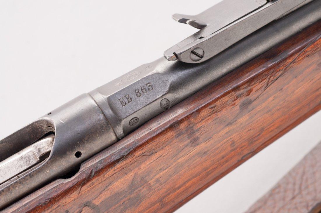 1081: Italian Vetterli 1870/87/15 Bolt Action Rifle - 5