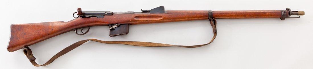 1186: Schmidt-Rubin 1889/1896 Straight-Pull Rifle