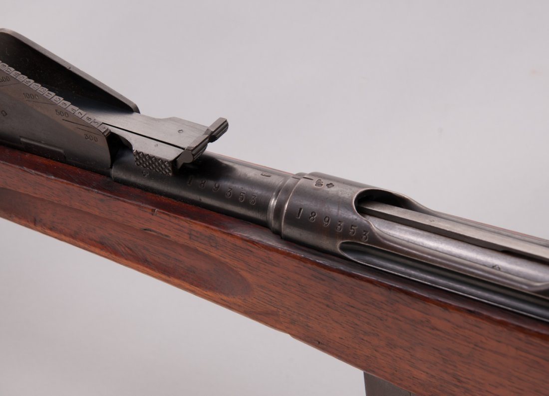 1186: Schmidt-Rubin 1889/1896 Straight-Pull Rifle - 5