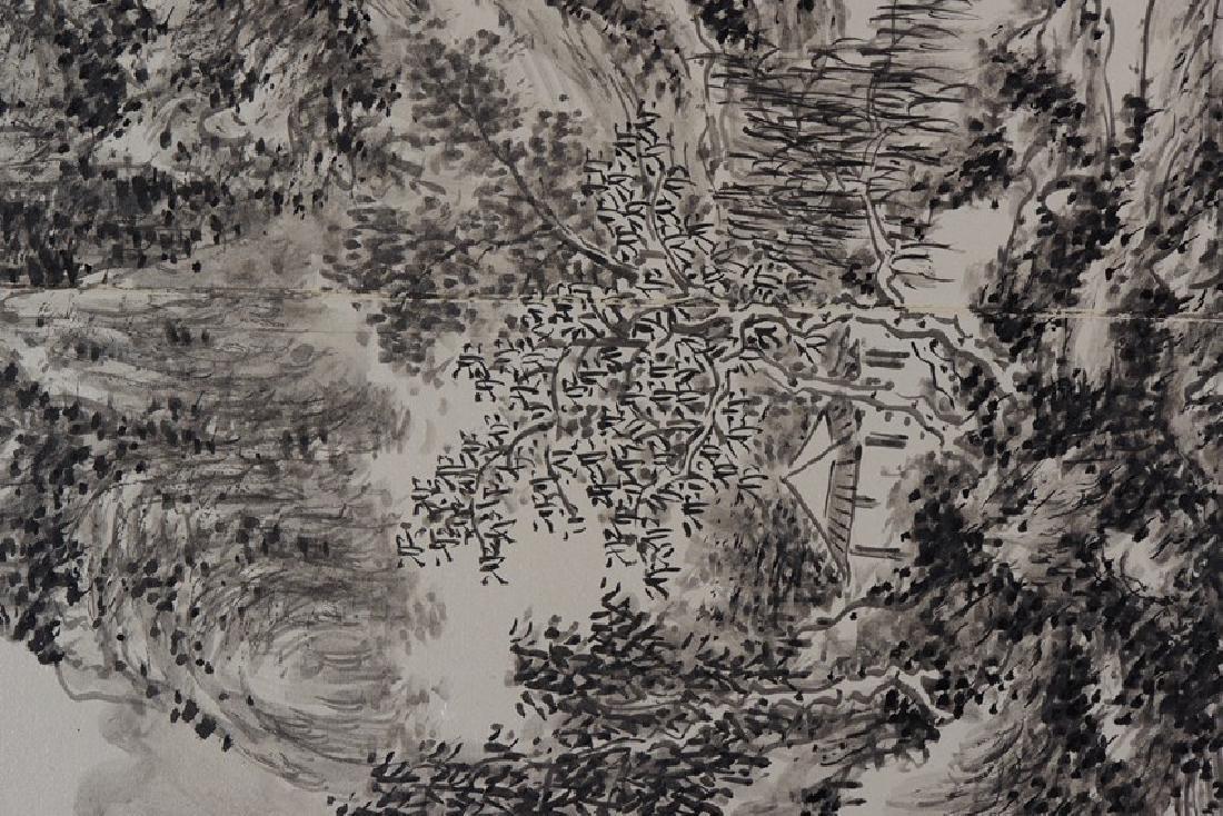 HUANG BINHONG: INK ON PAPER 'LANDSCAPE PAINTING - 5