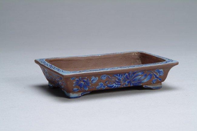 19: A Chinese Zisha flower pot