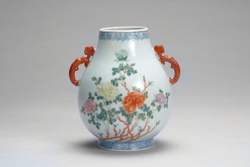 "A CHINESE FAMILLE-ROSE ""FLOWERS"" JAR"