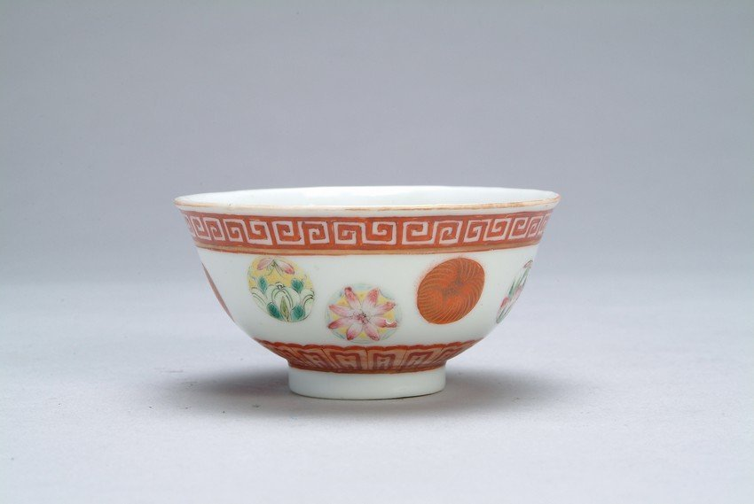 A CHINESE FAMILLE-ROSE BOWL