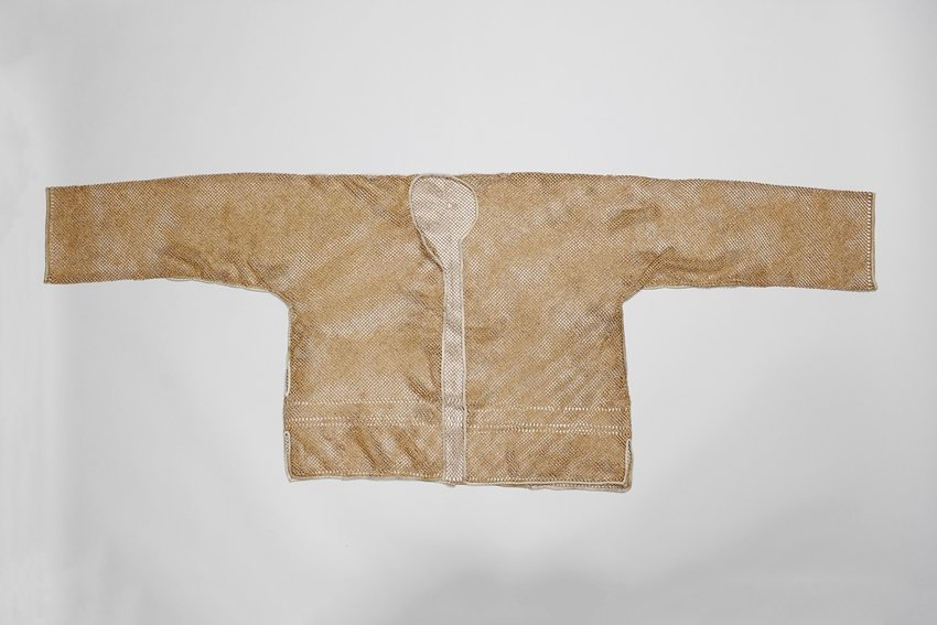 A RARE CHINESE BAMBOO VEST