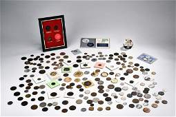 A GROUP OF VARIOUS VINTAGE COINS