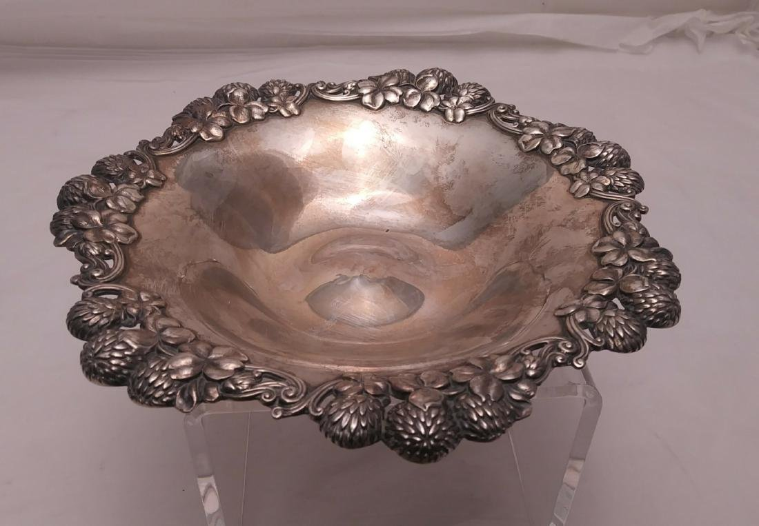 """Tiffany & Co. Sterling Silver 8"""" Berry Bowl"""