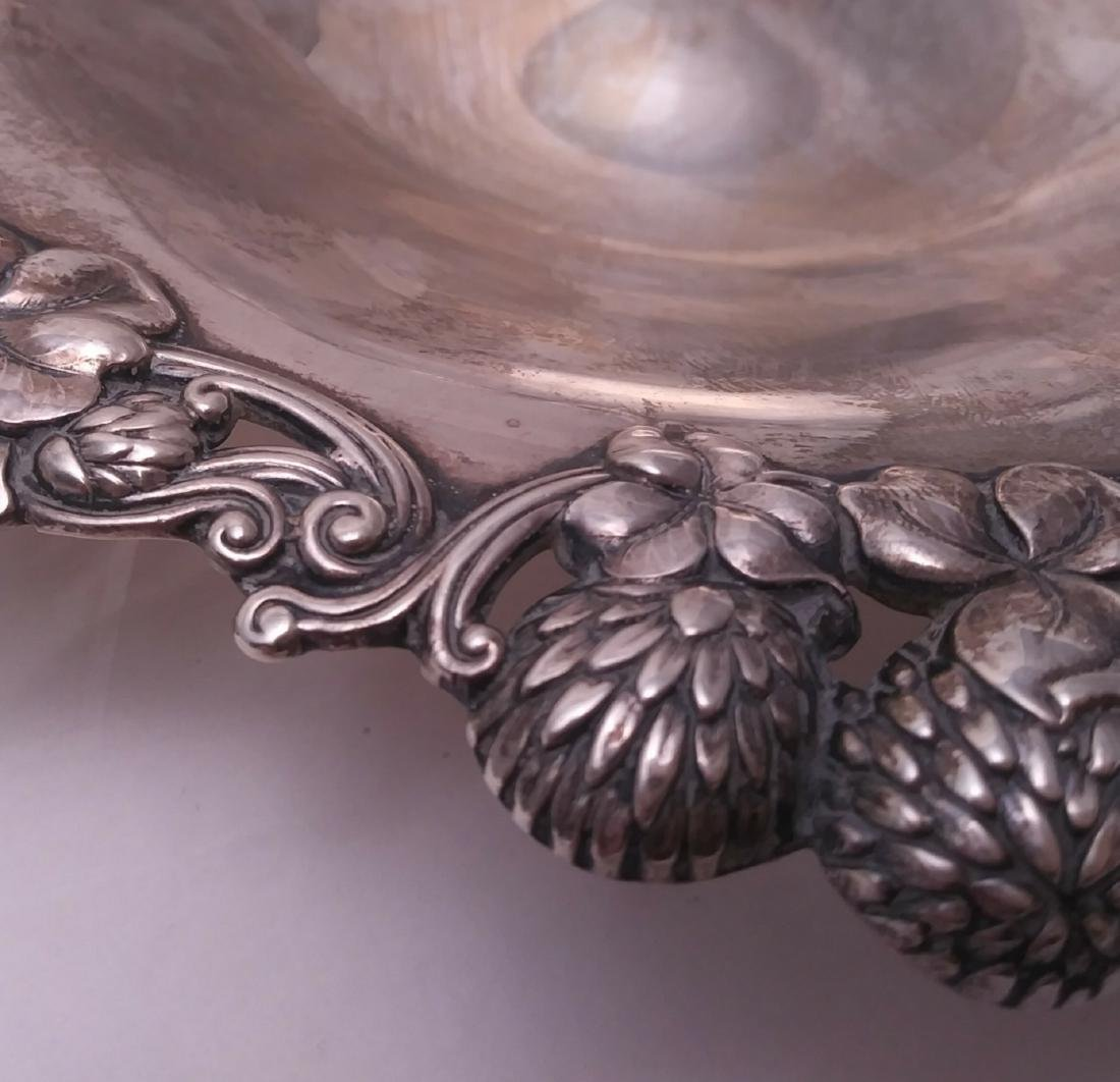 """Tiffany & Co. Sterling Silver 8"""" Berry Bowl - 3"""