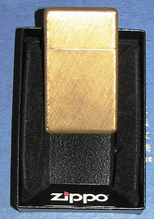 1032: BUCCELLATI 18K GOLD ZIPPO LIGHTER SOLID GOLD 42 G