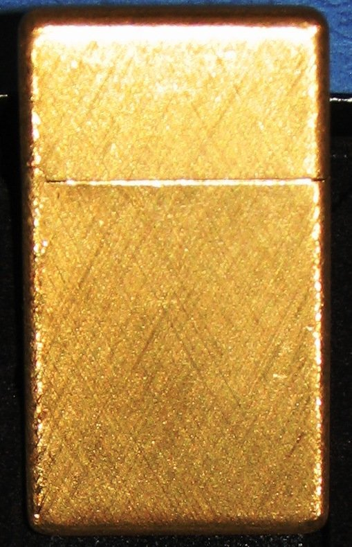 1032: BUCCELLATI 18K GOLD ZIPPO LIGHTER SOLID GOLD 42 G - 2
