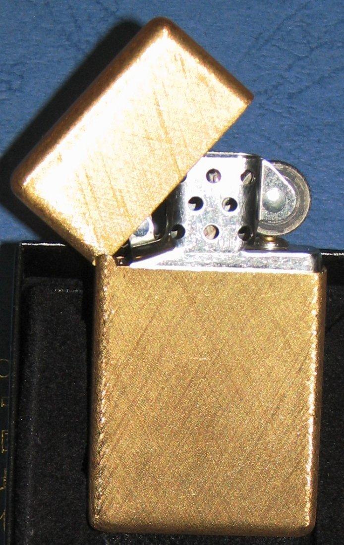 1032: BUCCELLATI 18K GOLD ZIPPO LIGHTER SOLID GOLD 42 G - 4