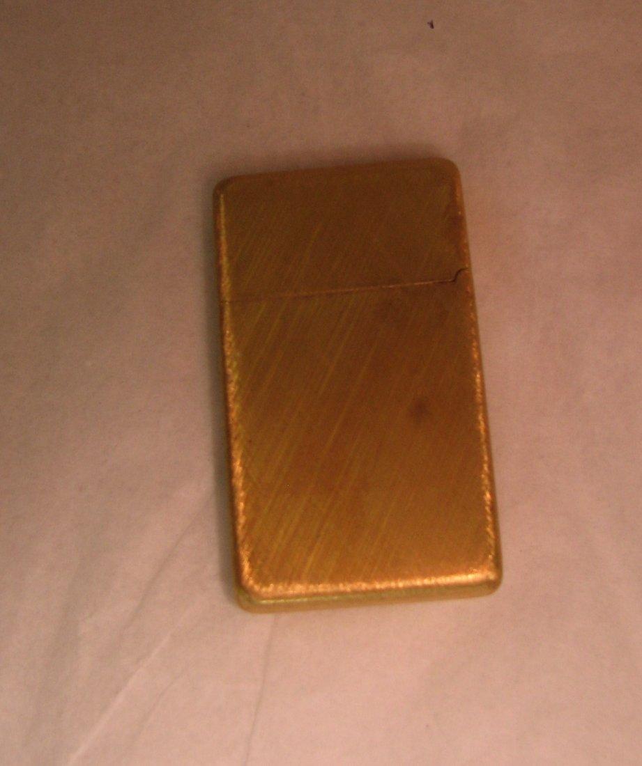 1032: BUCCELLATI 18K GOLD ZIPPO LIGHTER SOLID GOLD 42 G - 5