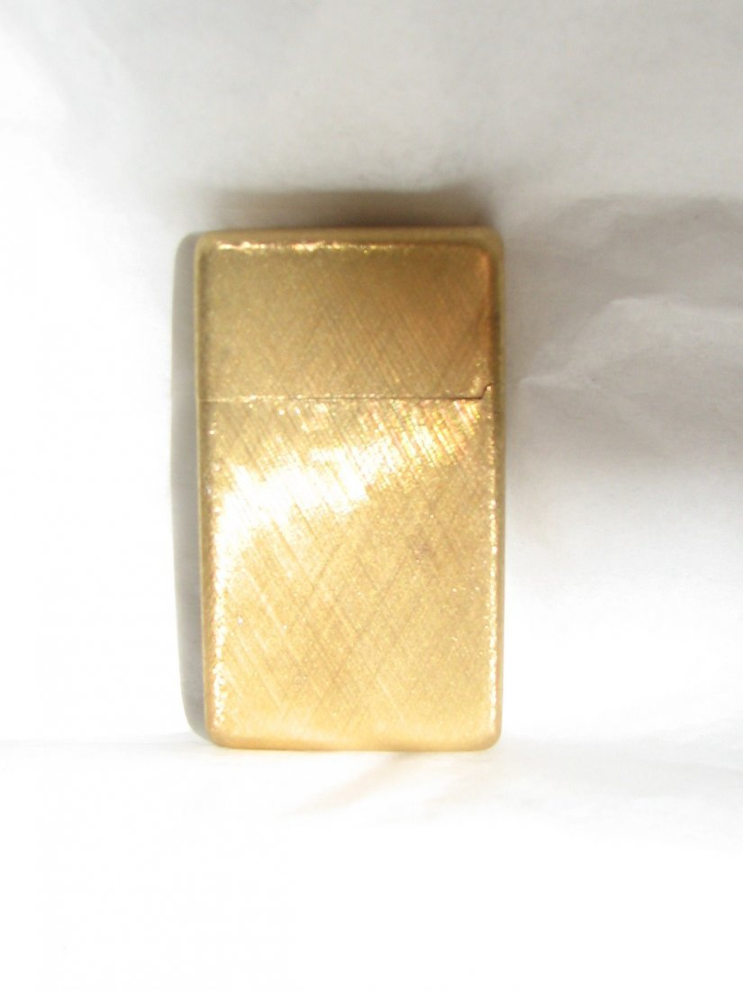 1032: BUCCELLATI 18K GOLD ZIPPO LIGHTER SOLID GOLD 42 G - 6