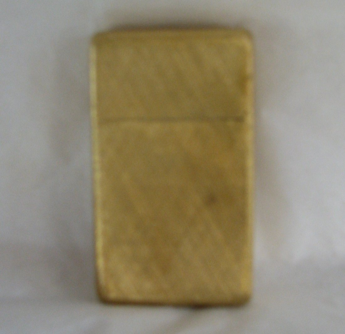 1032: BUCCELLATI 18K GOLD ZIPPO LIGHTER SOLID GOLD 42 G - 7