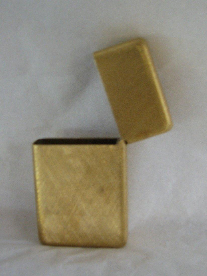 1032: BUCCELLATI 18K GOLD ZIPPO LIGHTER SOLID GOLD 42 G - 8