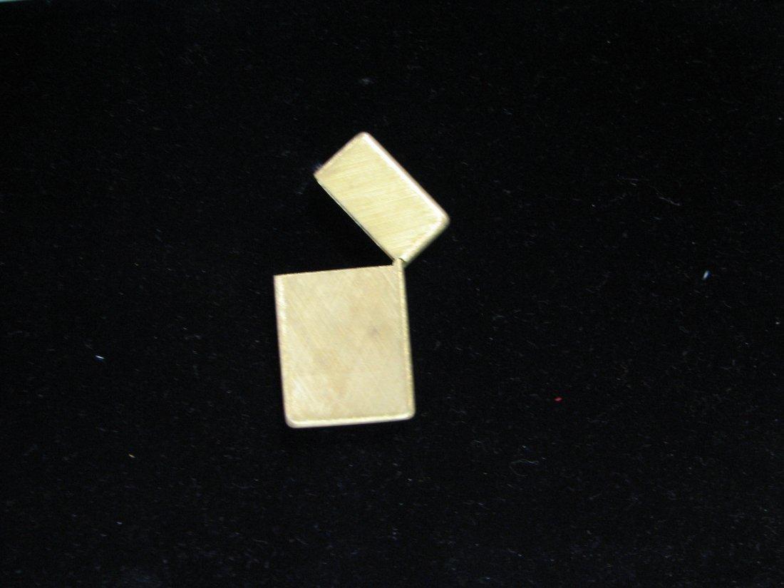 1032: BUCCELLATI 18K GOLD ZIPPO LIGHTER SOLID GOLD 42 G - 9