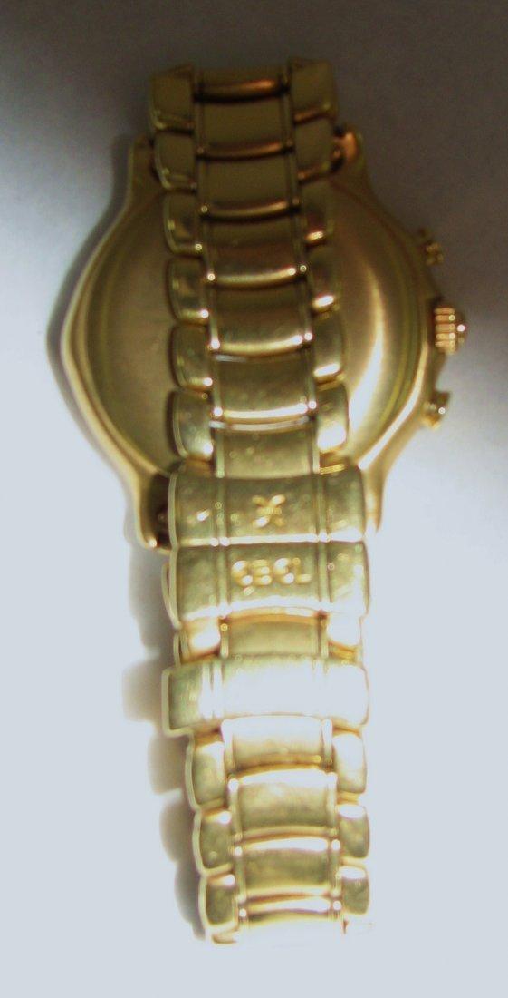 1035: EBEL 18K GOLD CHRONOGRAPH AUTOMATIC REF. 8134901 - 7