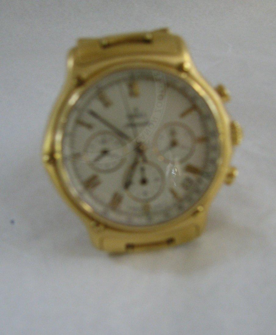 1035: EBEL 18K GOLD CHRONOGRAPH AUTOMATIC REF. 8134901 - 8