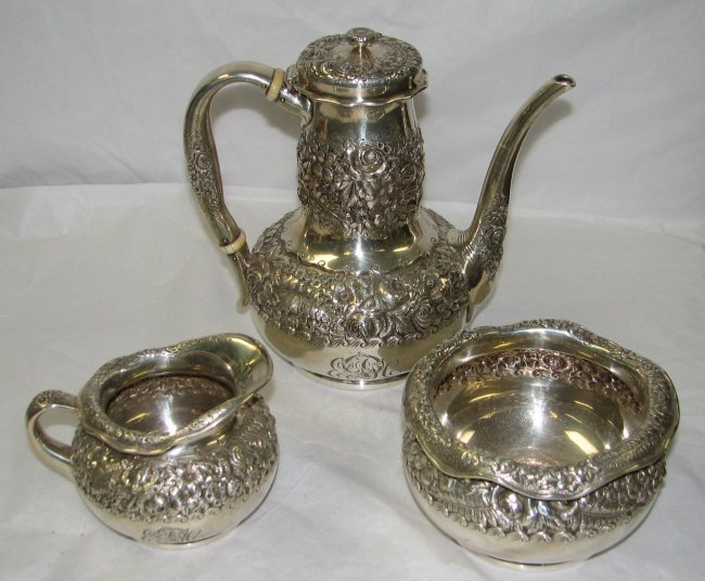 5: TIFFANY & CO. STERLING SILVER TEA SERVICE