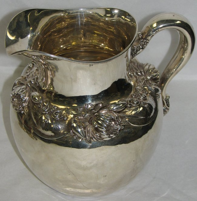 7: BLACK STARR & FROST STERLING PITCHER