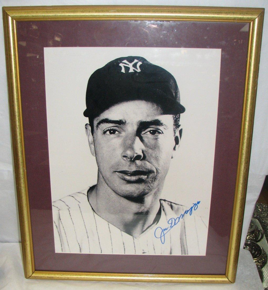 Joe Dimaggio Autographed PICTURE