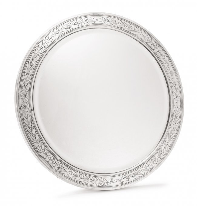 Tiffany Sterling Silver Table Mirror
