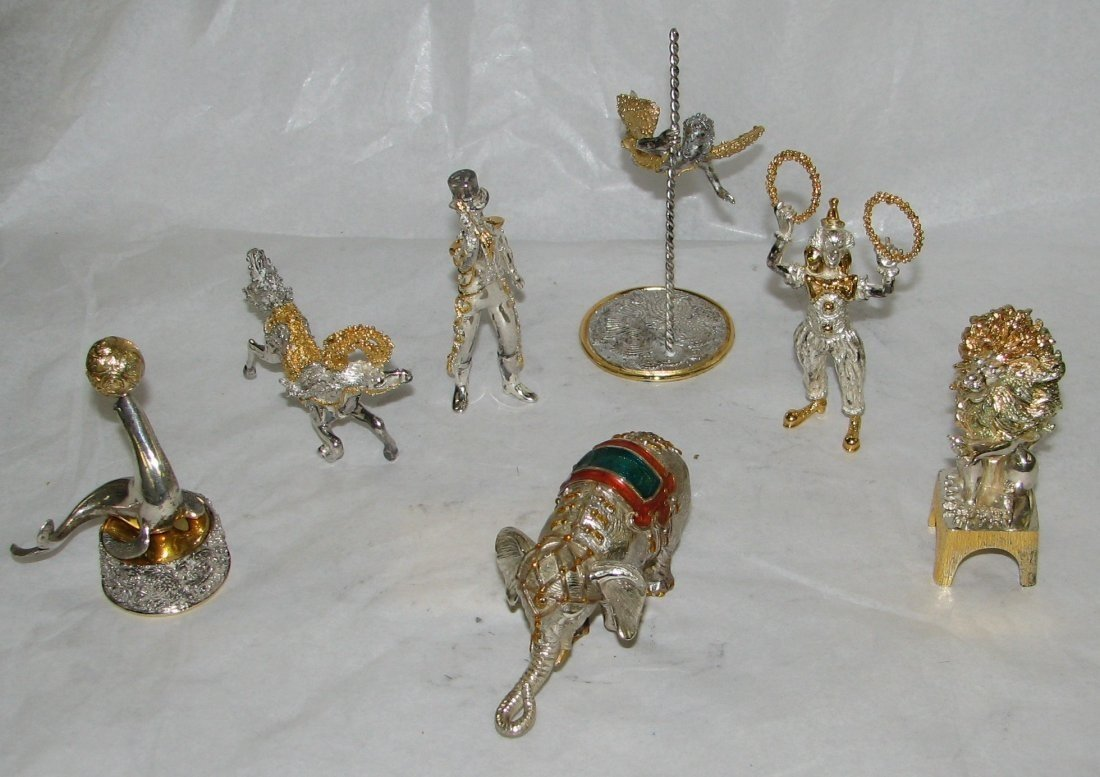 Tiffany Sterling Silver Circus Group