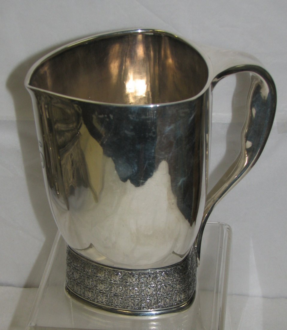 TIFFANY  STERLING SILVER AESTHETIC MOVEMENT PITCHER