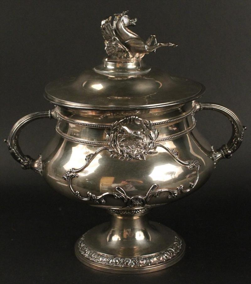 Gorham Sterling Silver Breeders Challenge loving cup