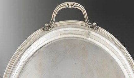 BUCCELLATI STERLING SILVER LARGE TEA SET WITH TRAY - 6