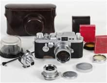 315: Leica IIIg with Summicron 5cm Summaron 3.5cm and I
