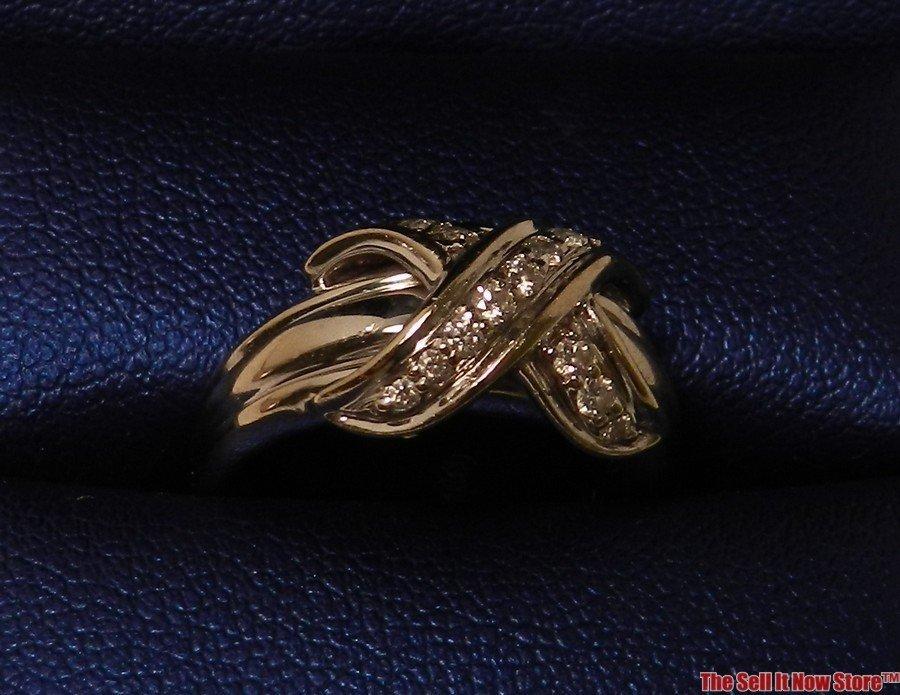 2102: Tiffany & Co Signature White Gold Ring