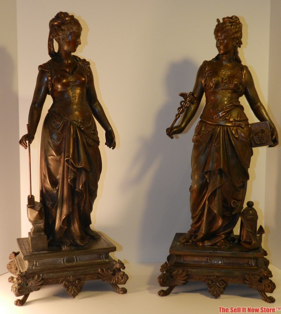 3101: Late 19th Century Sculptures