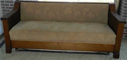 Mission Style Sleeper Sofa 4107 Antique Arts Crafts