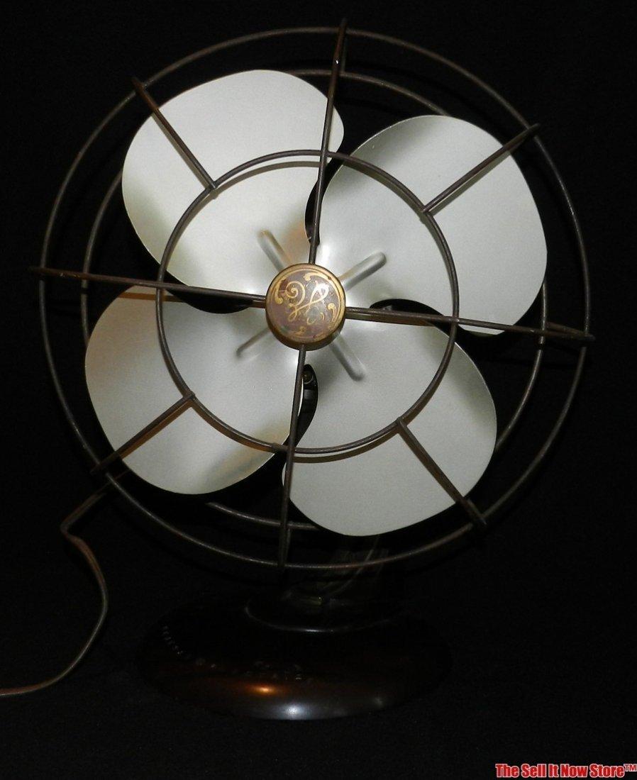"""Vintage GE General Electric 12"""" Oscillating Fan"""