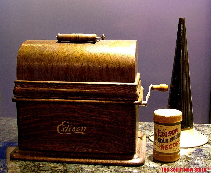 Edison Standard 2 / 4 Minute Cylinder Phonograph