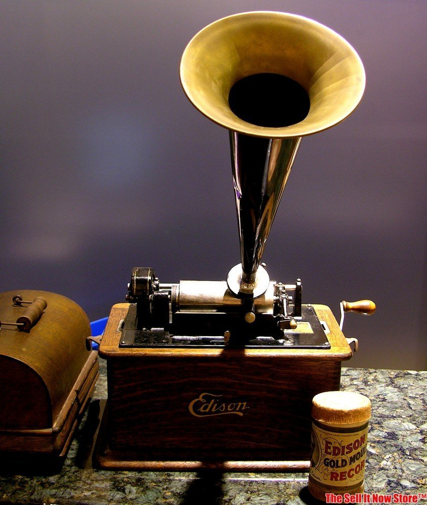 Edison Standard 2 / 4 Minute Cylinder Phonograph - 2