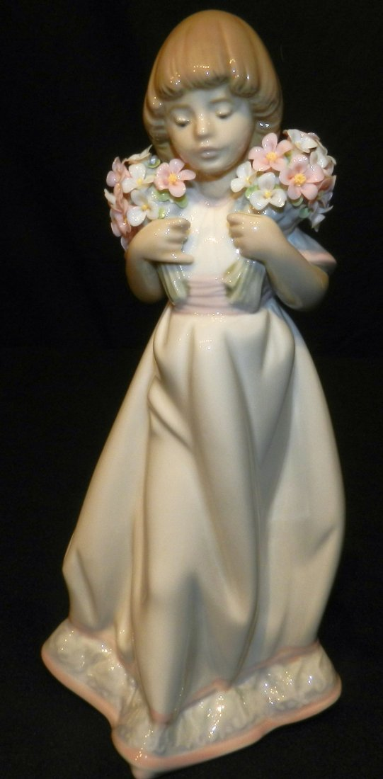 Lladro Collector's Society 1987 Spring Bouquets 7603
