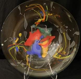 """""""#7010"""" Art Glass by John Mac Pherson"""