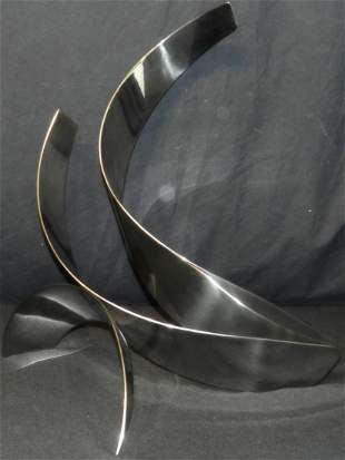 """""""Thrust"""" Stainless Steel Sculpture by Jack Arnold"""