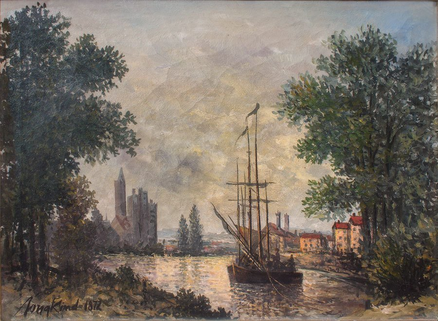 405: Johan B. Jongkind