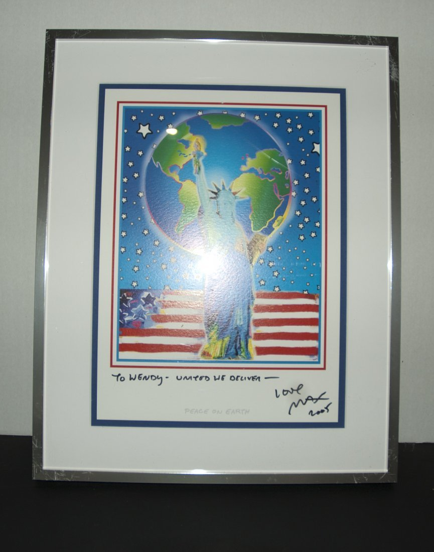 Peter Max Signed Print