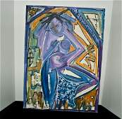 Neith Nevelson - Painting On Canvas