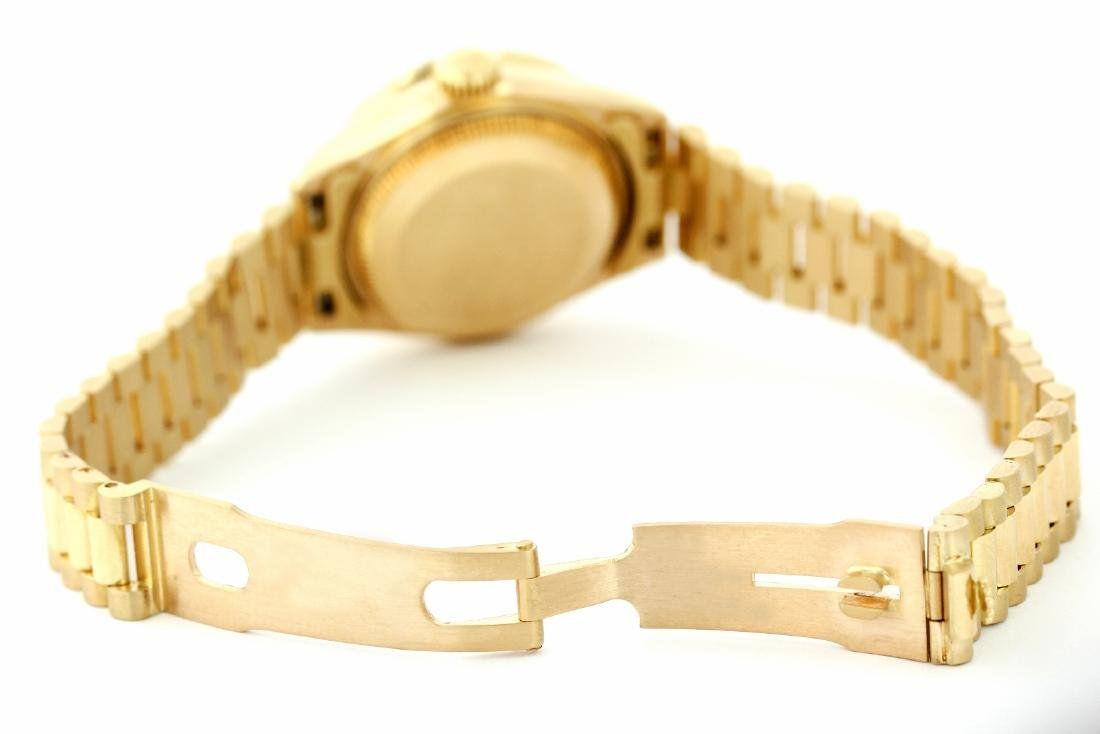 Rolex Pre-owned 26mm Womens String Champagne 18K Gold - - 3