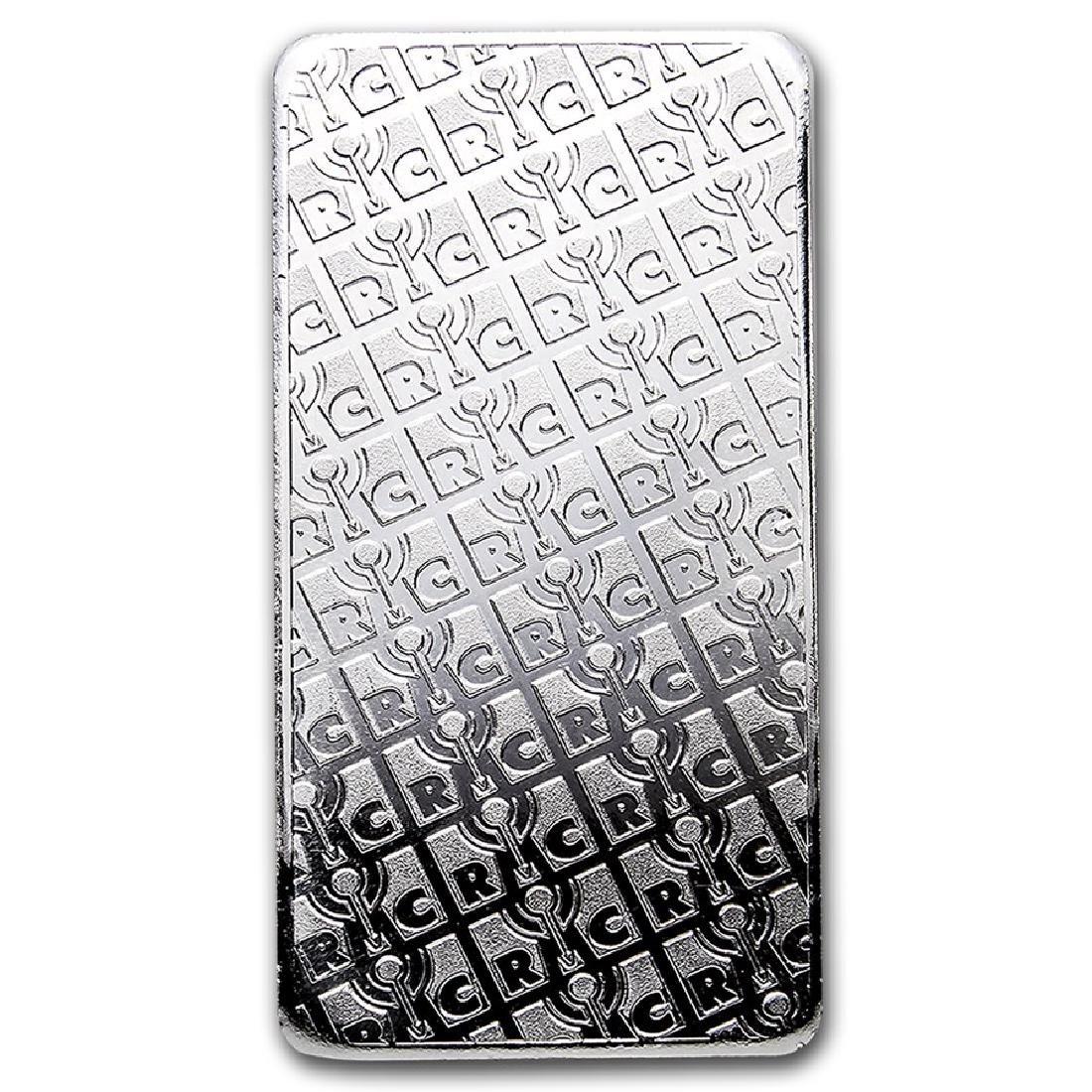 Genuine 10 oz 0.999 Fine Silver Bar - Republic Metals - 2